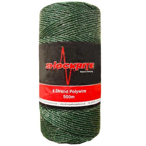 500m Green Polywire