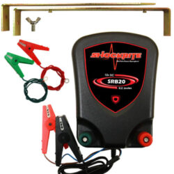 ShockRite SRB20 Energiser, Earth Stake and Connection Cables