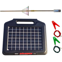 SRS02 Solar Energiser, Earth Stake and Connection Cables