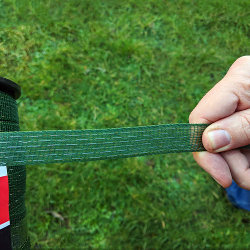 Electric Fencing 20mm Tape GREEN